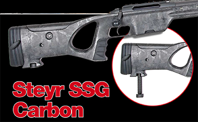 Steyr SSG Carbon - Revista Armas & Tiro 2014