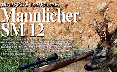 STEYR MANNLICHER SM12 - REVISTA CAÇA MAIOR & SAFARIS 2014