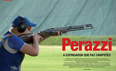 PERAZZI – A ESPINGARDA QUE FAZ CAMPEÕES – REVISTA CAÇA & CÃES DE CAÇA 2014